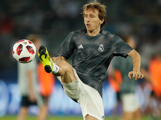 Report: Zidane unhappy with Modric form