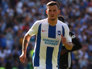 Pascal Gross in action for Brighton on September 1, 2018