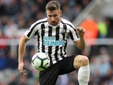 Paul Dummett in action for Newcastle United on October 20, 2018