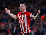 Southampton midfielder Pierre-Emile Hojbjerg celebrates scoring against Manchester City on December 30, 2018
