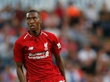 Rafael Camacho in action for Liverpool during pre-season in July 2018