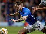 Ryan Kent in action for Rangers on October 4, 2018