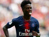 Timothy Weah in action for PSG on July 21, 2018