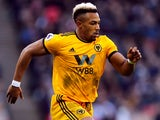 Adama Traore in action for Wolverhampton Wanderers on January 2, 2019