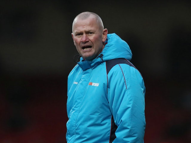 Woking manager Alan Dowson pictured on December 2, 2018
