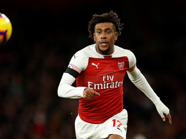Iwobi: Young Gunners are giving Emery selection headache