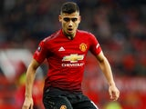 Andreas Pereira in action during the FA Cup third-round game between Manchester United and Reading on January 5, 2019