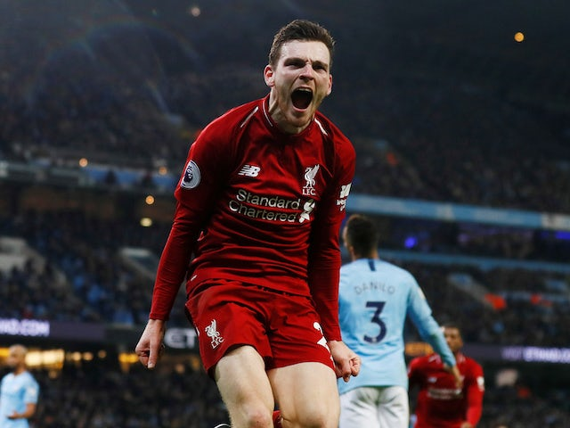 Klopp is 'smiley' and calm - Liverpool defender Robertson