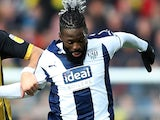Bakary Sako in action for West Bromwich Albion on December 29, 2018