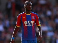 Christian Benteke in action for Crystal Palace on September 1, 2018
