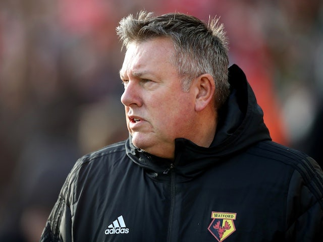 Craig Shakespeare gives credit to Watford players for upturn in form