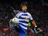 Danny Loader in action during the FA Cup third-round game between Manchester United and Reading on January 5, 2019