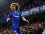 David Luiz in action during the FA Cup third-round game between Chelsea and Nottingham Forest on January 5, 2019