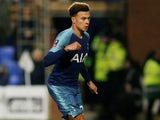 Dele Alli in action for Spurs on January 4, 2019