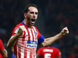 Atletico Madrid defender Diego Godin pictured in November 2018
