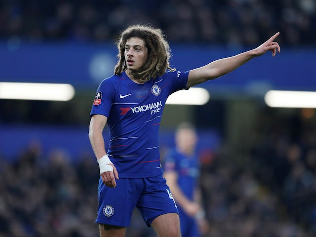 Ethan Ampadu in action for Chelsea on January 5, 2019
