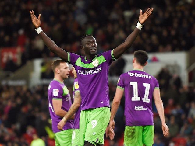 Result: Famara Diedhiou and Callum O'Dowda help Bristol City upset Stoke