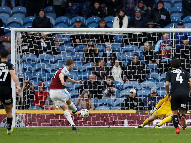 Result: Wood spot on as Burnley make Barnsley pay the penalty