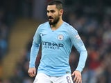 Ilkay Gundogan in action during the FA Cup third-round game between Manchester City and Rotherham United on January 6, 2019