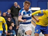 Jake Bidwell in action for QPR on January 6, 2019