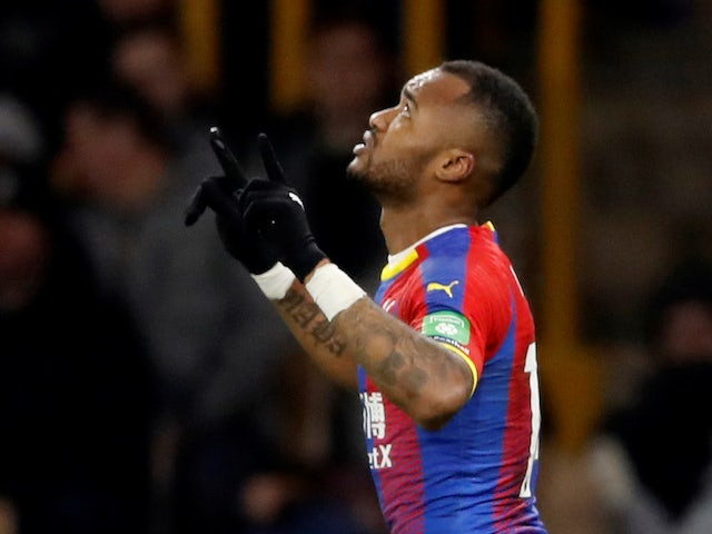 Crystal Palace forward Jordan Ayew knew his goal drought would end