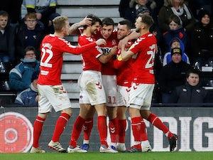 Jordan Hugill equaliser earns Middlesbrough a point at Derby