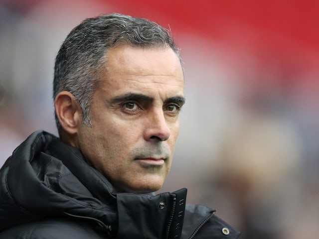 Jose Gomes bemoans 'unacceptable' performance as Reading lose to Swansea