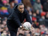 Royals boss Jose Gomes during the FA Cup third-round game between Manchester United and Reading on January 5, 2019