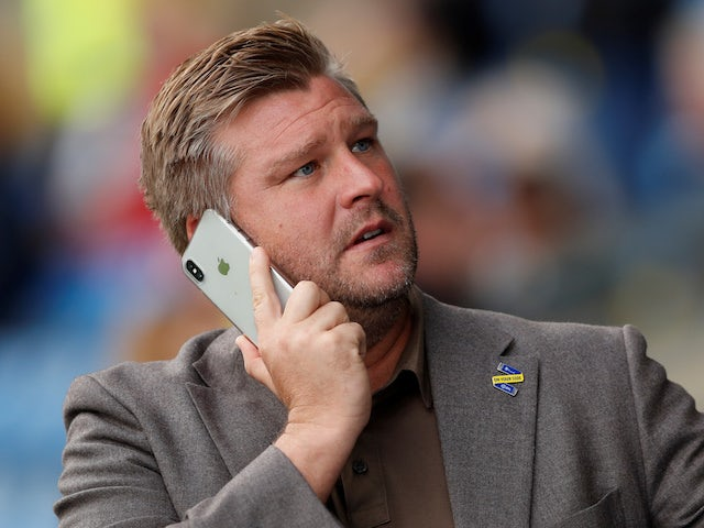 Oxford United manager Karl Robinson is a busy man in October 2018