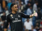 Real Madrid goalkeeper Keylor Navas pictured in October 2018