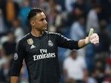 Real Madrid goalkeeper Keylor Navas pictured in October 2018