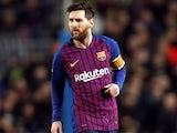 Lionel Messi in action for Barcelona on December 11, 2018