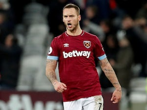 Arnautovic double rescues point for West Ham against Brighton