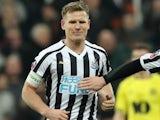 Matt Ritchie celebrates scoring for Newcastle United on January 5, 2019