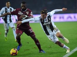 Torino's Nicolas Nkoulou in action against Juventus in December 2018