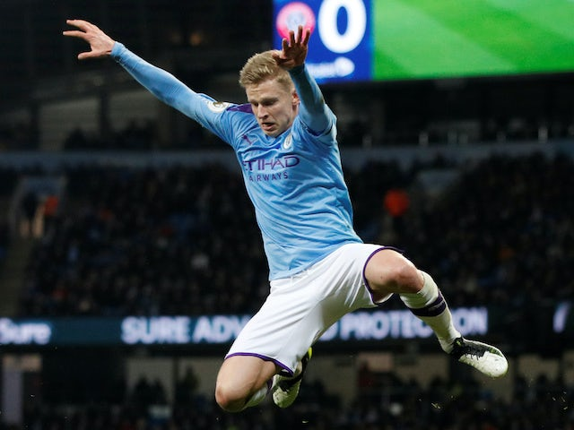 Zinchenko: 'Guardiola undoubtedly the best manager in the world'