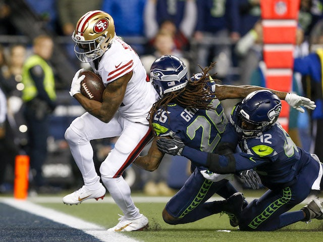 NFL roundup: San Francisco 49ers secure number one seed