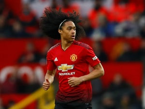 Tahith Chong in action during the FA Cup third-round game between Manchester United and Reading on January 5, 2019