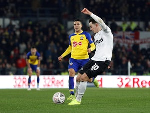 Lawrence leveller helps Derby earn replay with Southampton