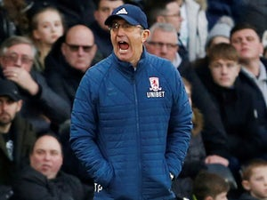Middlesbrough boss Tony Pulis pictured on January 1, 2019