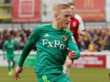 Will Hughes in action for Watford on January 6, 2019