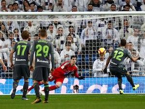 Sociedad stun 10-man Real Madrid at Bernabeu