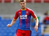 Alexander Sorloth in action for Crystal Palace on July 28, 2018