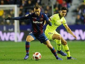 Barcelona lose to Levante in Copa del Rey