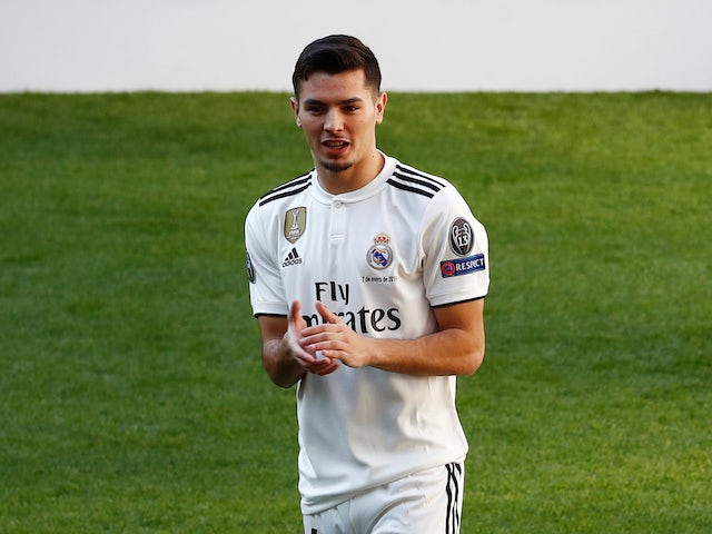 Brahim Diaz is unveiled as a Real Madrid player on January 7, 2019