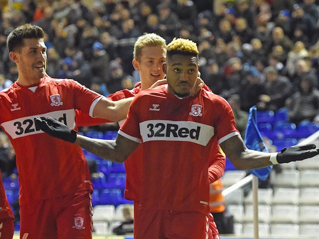 Result: Boro earn impressive win on the road thanks to Assombalonga's strike
