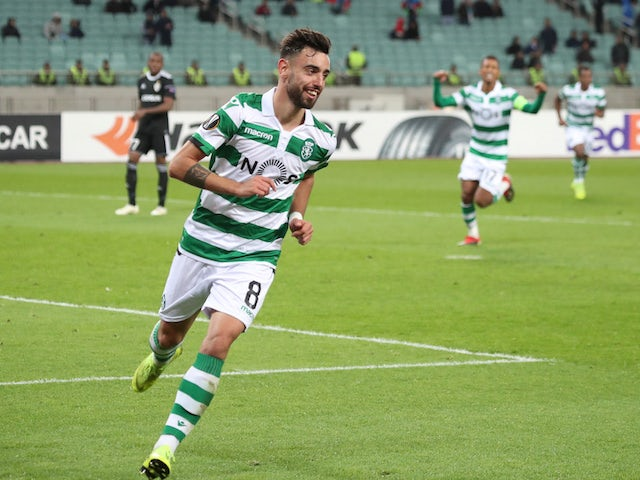 Man Utd meet with Bruno Fernandes agent?