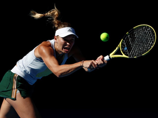 Caroline Wozniacki feeling good for title defence after joyful off-season