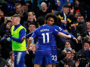 Willian strengthens Chelsea's grip on fourth