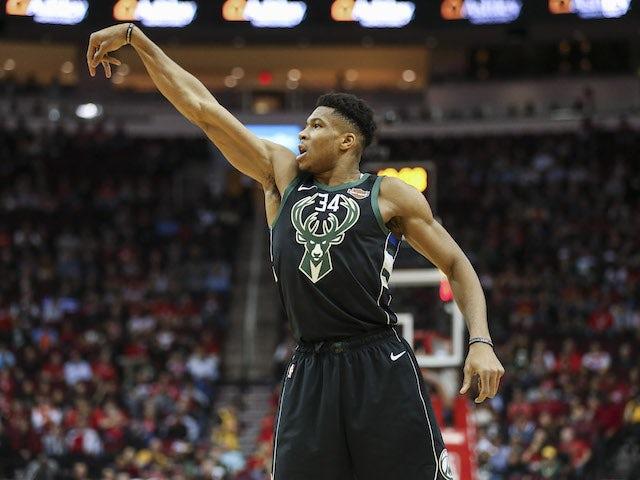 Result: Giannis Antetokounmpo fires Milwaukee Bucks past Houston Rockets